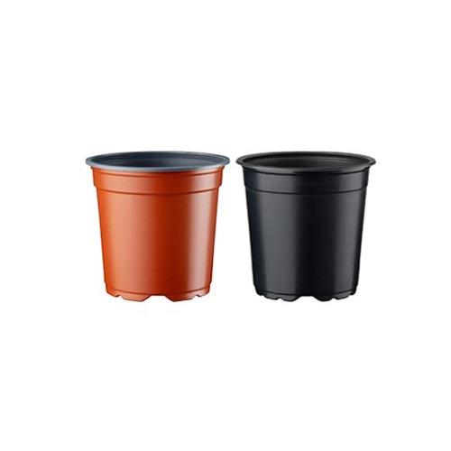 Indoor & Outdoor Gardening Thermoformed Flexible Plastic Flower Pot, Pack of 2