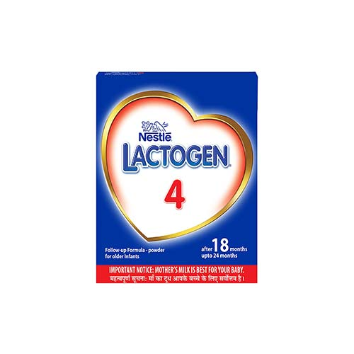 Nestle LACTOGEN 4 Follow-Up Infant Formula-Powder, After 18 months Upto 24 months, Stage 4, Refill Pack, 400g