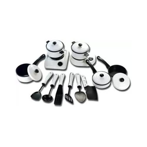Modular Cooking Set Small, for Children, Kitchenware Utensils Toys Set