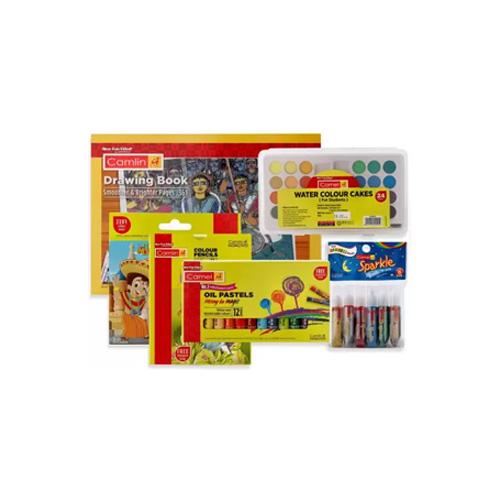 Camlin Painting Kit Combo, Set of 6