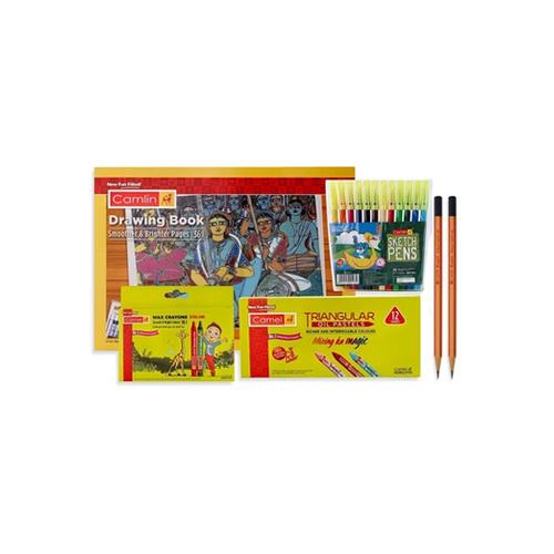 Camlin Drawing Kit Combo, Set of 5
